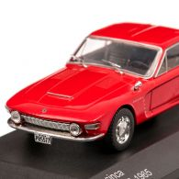 Brasinca Uirapuru 4200 GT 1965, macheta auto scara 1:43, rosu, White Box