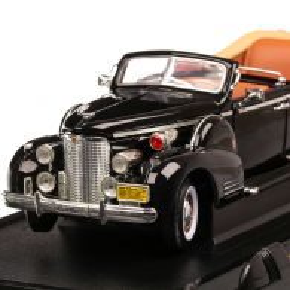 Cadillac V-16 Presidential Limousine 1938, scara 1:24, negru, Lucky Die Cast