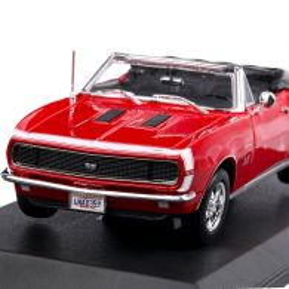 Chevrolet Camaro SS 396 Convertible 1967, macheta  auto,  scara 1:18, rosu. Maisto