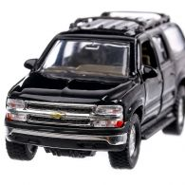 Chevrolet Suburban 2001, macheta suv, negru, scara 1:36, Magazine Models