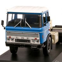 DAF 2600 1970, macheta camion, scara 1:43, bleu cu alb, IXO