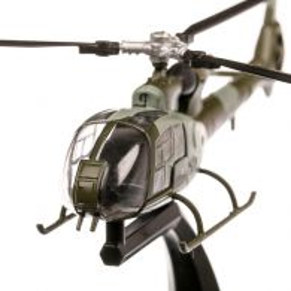 Elicopter Westland Gazelle HT.2 UK 1974, macheta elicopter scara 1:72, gri, Atlas