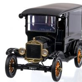 Ford Model T Paddy Wagon 1925, macheta  auto,  scara 1:24, negru, Motor Max