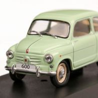 Greek Cars Collection - Nr. 8 - Fiat 600 1959