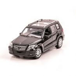 Mercedes Benz GLK, macheta auto scara 1:24, negru, Rastar