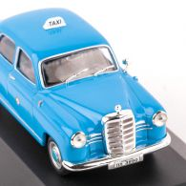 Mercedes-Benz W180 Ponton - Taxi, macheta auto scara 1:43, albastru deschis