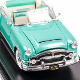 PACKARD CARRIBEAN 1953, macheta auto scara 1:18, vernil, window box, Lucky Die Cast