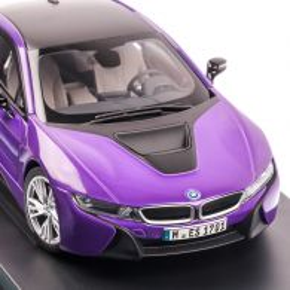 BMW i8 2017, macheta auto scara 1:18, purple pearl, Paragon