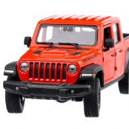 Jeep Gladiator Rubicon 2020, macheta suv, scara 1:27, rosu, Welly