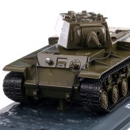 KV-1 (KB-1) KLIMENT VOROSILOV 1 TANK 1941,  macheta vehicul militar scara 1:43, verde, Atlas