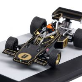 Lotus FORD 72D #8 Emerson Fittipaldi P1 Marea Britanie GP 1972, macheta auto scara 1:43, negru, Atlas