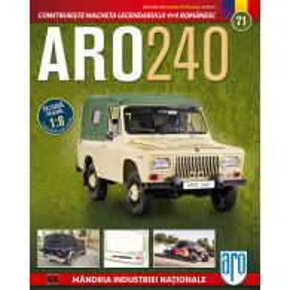 Macheta ARO 240 kit construibil Eaglemoss nr. 71
