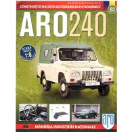 Macheta ARO 240 kit construibil Eaglemoss nr. 83