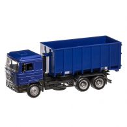 MAN F2000 container mobil, scara 1:43, albastru, New Ray