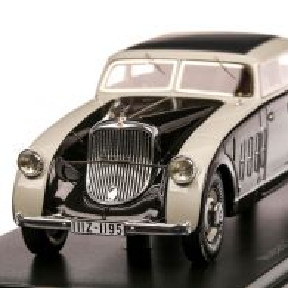 Maybach Zeppelin DS8 1932, macheta auto, scara 1:43, negru cu gri, Neo