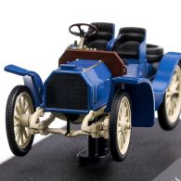 Mercedes Benz 40hp Simplex 1902, macheta auto, albastru, scara 1:43, Magazine Models