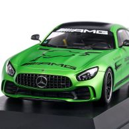 Mercedes-Benz AMG GT-R Ringtaxi 2017, macheta auto, scara 1:18, verde metalizat, Minichamps