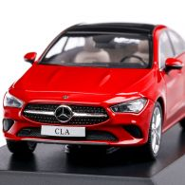 Mercedes-Benz CLA Coupe (C118) 2019, macheta auto scara 1:43, rosu, Spark
