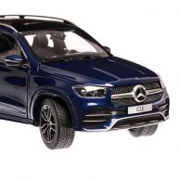 Mercedes Benz GLE (V167) 2019, macheta auto scara 1:18, albastru metalizat, Dealer Mercedes