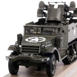 MGMC M16 1944, macheta vehicul militar, verde, scara 1:43, Magazine Models