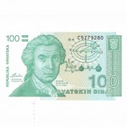 Monede si Bancnote de pe Glob Nr.99 - 100 de dinari