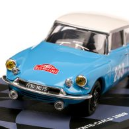 Colectia Raliul Monte Carlo Nr. 72 - DS 19 - 1963