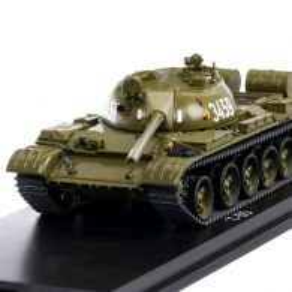 Panzer T-55 NVA 1958, macheta tanc scara 1:43, verde olive, Premium ClassiXXs