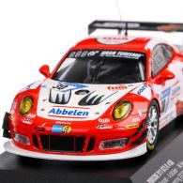Porsche 911 GT3 R #30 Arnold/Muller 24H Nurburgring 2018, macheta auto, scara 1:43, rosu, CMR
