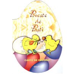 Poveste de Pasti - Carte de colorat