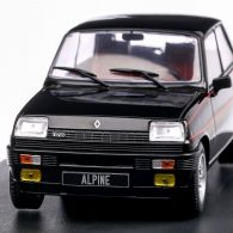 Renault 5 Alpine 1982, macheta auto scara 1:24, negru, White Box
