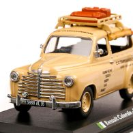 Renault Colorale Algiers Taxi 1950, macheta Taxi scara 1:43, bej, Atlas