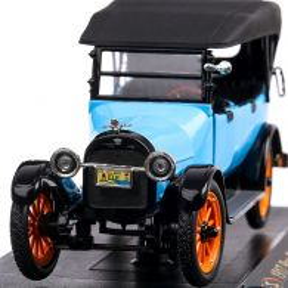 Reo Touring 1917, macheta auto, scara 1:32, bleu cu negru, Signature Models