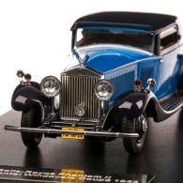 Rolls Royce Phantom II Continental Windovers Coupe 1932, macheta auto, scara 1:43, albastru, Neo