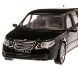Saab 9.5 Touring 2003, macheta auto, scara 1:43, negru, Cararama