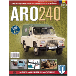Macheta ARO 240 nr.35 - coperta - magazinulcolectionarului.ro