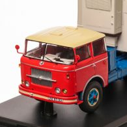 Skoda 706 RTTN 1976, macheta camion cu semiremorca scara 1:43, rosu cu albastru, Premium ClassiXXs