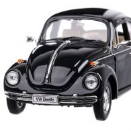 Volkswagen Beetle 1959 , macheta auto, scara 1:24, negru, Welly
