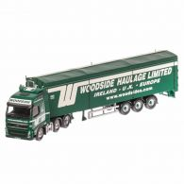 Volvo FH Face lift, macheta camion scara 1:50, verde, window box, Corgi