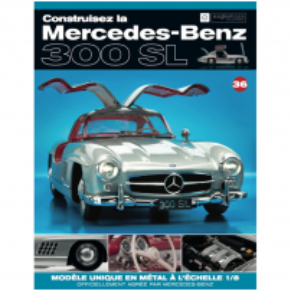 Macheta Mercedes-Benz 300SL Gullwing nr.36 - kit construibil - EAGLEMOSS COLLECTION