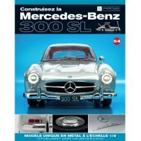 Macheta Mercedes-Benz 300SL Gullwing nr.64 - kit construibil - EAGLEMOSS COLLECTION