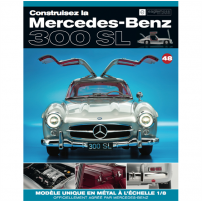 Macheta Mercedes-Benz 300SL Gullwing nr.48 - kit construibil - EAGLEMOSS COLLECTION