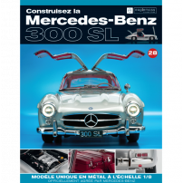 Macheta Mercedes-Benz 300SL Gullwing nr.28 - kit construibil - EAGLEMOSS COLLECTION