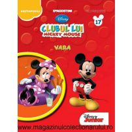 Clubul lui Mickey nr.17 - Te joci si inveti cu Mickey - Vara