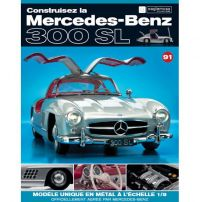 Macheta Mercedes-Benz 300SL Gullwing nr.91 - kit construibil - EAGLEMOSS COLLECTION