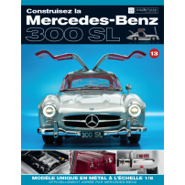 Macheta Mercedes-Benz 300SL Gullwing nr.13 - kit construibil - EAGLEMOSS COLLECTION