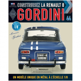 Macheta Renault R8 GORDINI EAGLEMOSS scara 1:8  nr.44 - kit construibil
