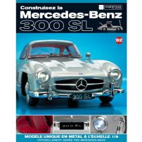 Macheta Mercedes-Benz 300SL Gullwing nr.92 - kit construibil - EAGLEMOSS COLLECTION