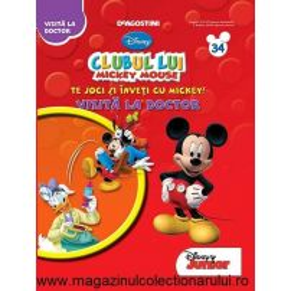 Clubul lui Mickey nr.34 - Te joci si inveti cu Mickey - Vizita la doctor