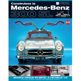 Macheta Mercedes-Benz 300SL Gullwing nr.23 - kit construibil - EAGLEMOSS COLLECTION