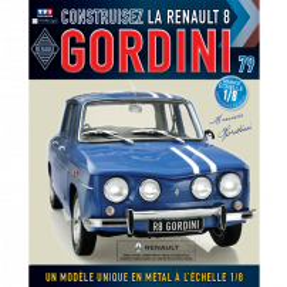 Macheta Renault R8 GORDINI EAGLEMOSS scara 1:8  nr.79 - kit construibil